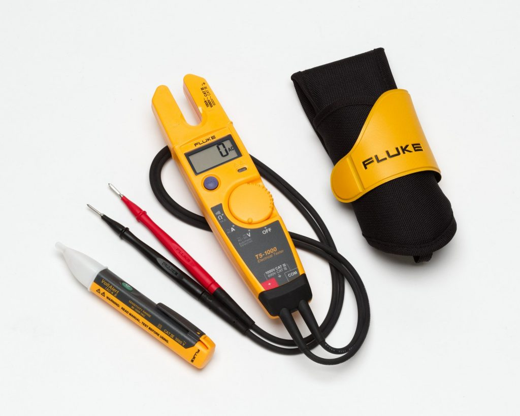 An electrical tester unit to test voltages