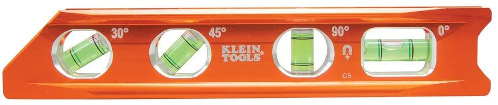 A Klein Tools torpedo leveler